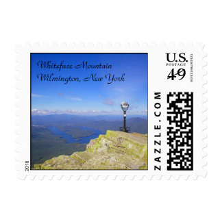 Whiteface Mountain Postage Stamp
