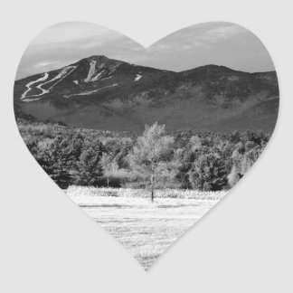 Whiteface Mountain Heart Sticker