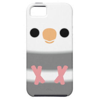 Whiteface Pied Cockatiel iPhone 5 Cases