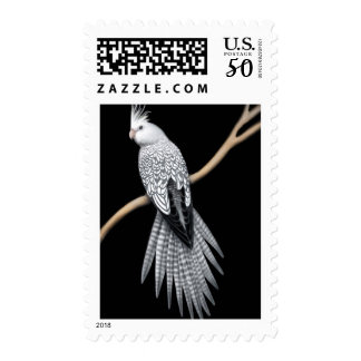 Whitefaced Pearl Cockatiel Postage