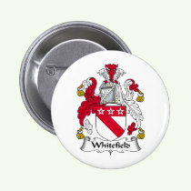 Whitefield Family Crest Button