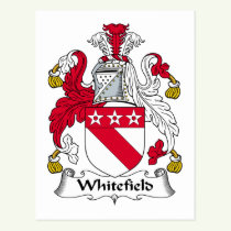 Whitefield Family Crest Postcard
