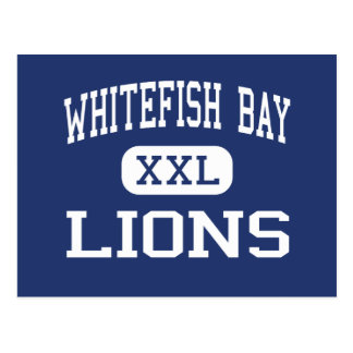 Whitefish Bay Lions Middle Milwaukee Postcard