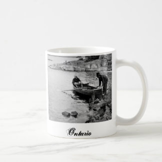 Whitefish Bay Ontario Fishing Mug