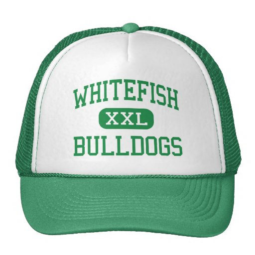 bulldog whitefish whitefish bulldogs high whitefish montana trucker 8985