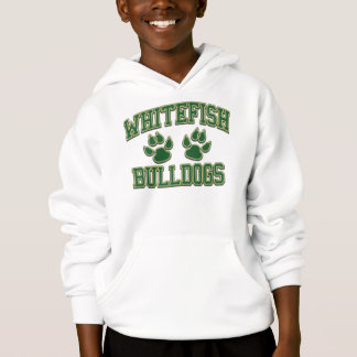 Whitefish Bulldogs Tackle and Twill Hoodie