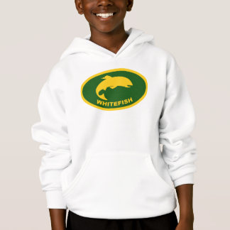 Whitefish Colors Fish Oval Hoodie