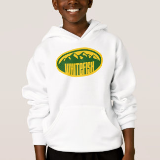 Whitefish Colors Oval Hoodie