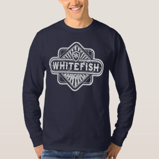 Whitefish Diamond Grunge T-Shirt