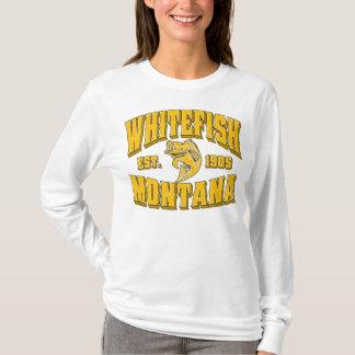 Whitefish Est. 1905 Three Gold Logo T-Shirt