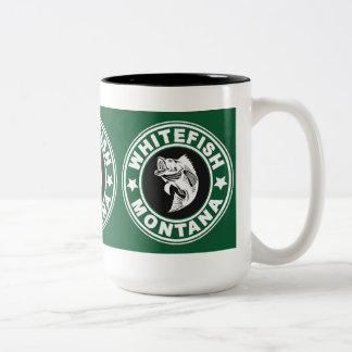 Whitefish Green Circle Mug