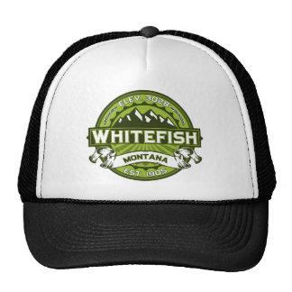 Whitefish Green Trucker Hat
