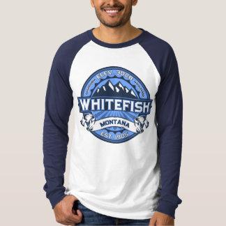 Whitefish Logo Blue T-Shirt