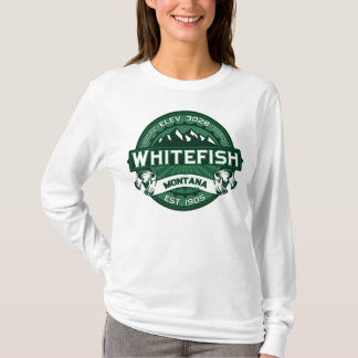 Whitefish Logo Forest T-Shirt