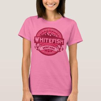Whitefish Logo Honeysuckle T-Shirt