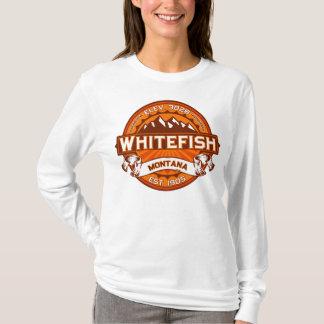 Whitefish Logo Tangerine T-Shirt