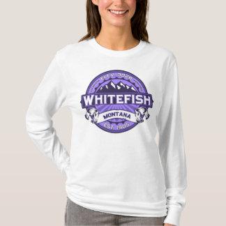 Whitefish Logo Violet T-Shirt