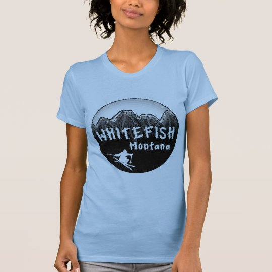Whitefish Montana artistic skier T-Shirt