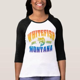 Whitefish Montana Fish Psychadelic T-Shirt