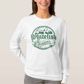 Whitefish Old Canterbury Distressed Green T-Shirt