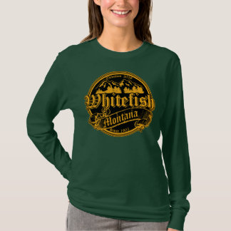 Whitefish Old Canterbury Invert Gold T-Shirt
