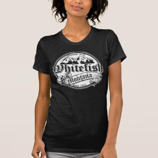 Whitefish Old Canterbury on White T-Shirt