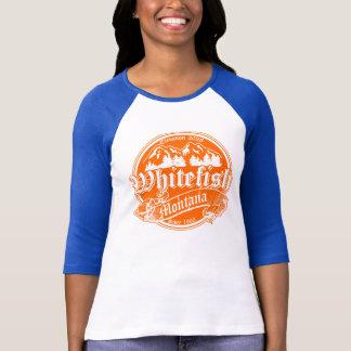 Whitefish Old Orange Overlay T-Shirt