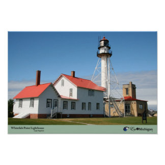 Whitefish Point Lighthouse - Michigan Print