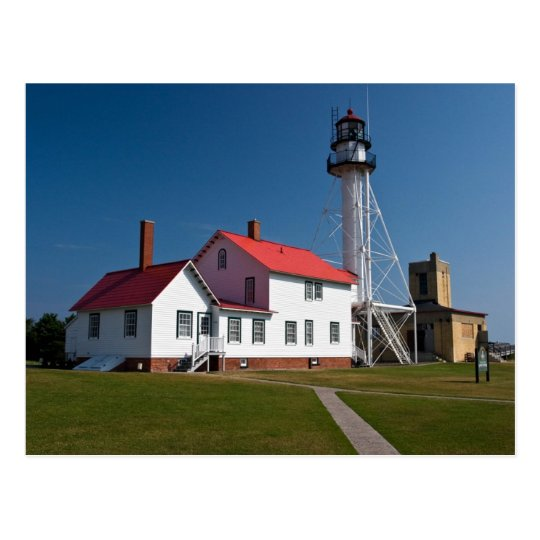 Whitefish Point Lighthouse Postcard