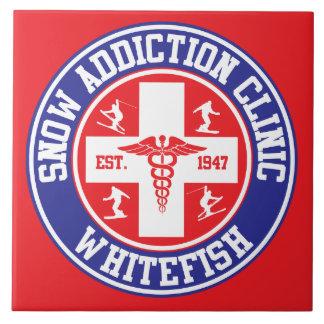 Whitefish Snow Addiction Clinic Tile