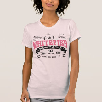 Whitefish Vintage Honeysuckle T-Shirt