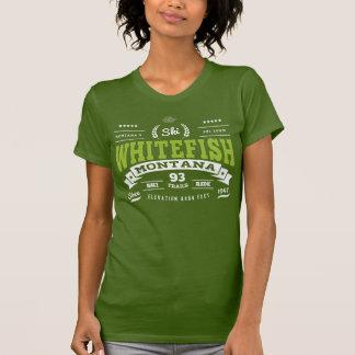 Whitefish Vintage Spring Green T-Shirt