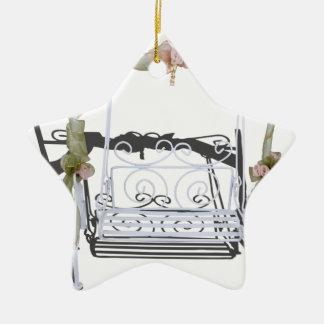 WhiteGardenSwing103013.png Ceramic Ornament