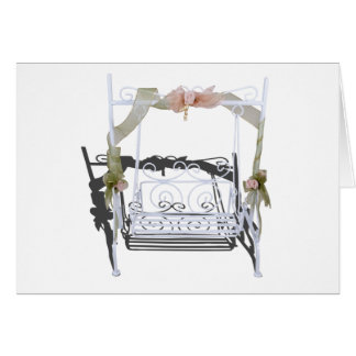WhiteGardenSwing103013.png Greeting Card