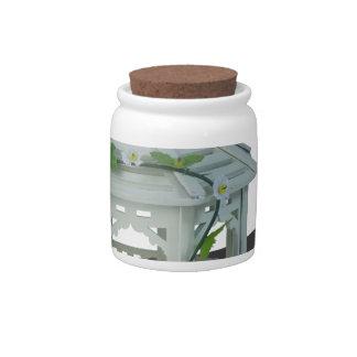 WhiteGazeboVineFlowers122814 Candy Jars