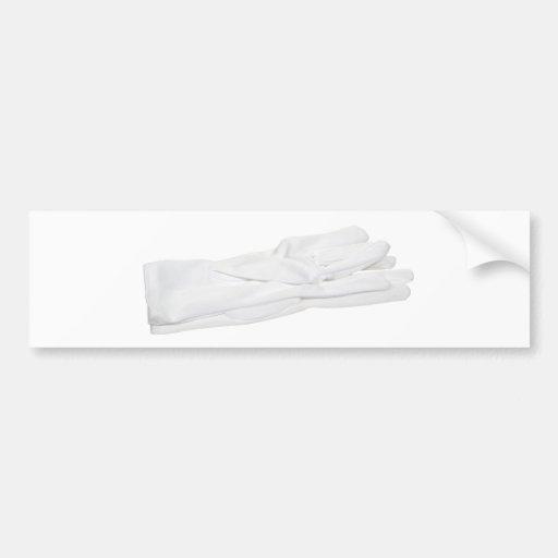 WhiteGloves082909 Bumper Sticker