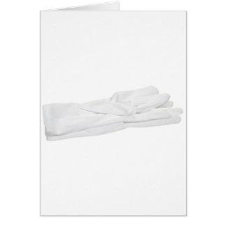 WhiteGloves082909 Greeting Card