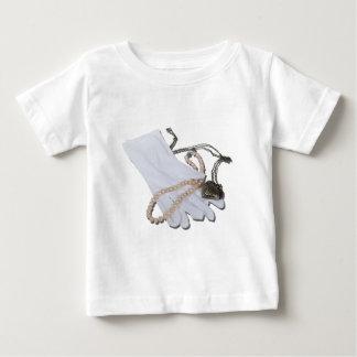 WhiteGlovesPearlsHeartLocket082611 Baby T-Shirt