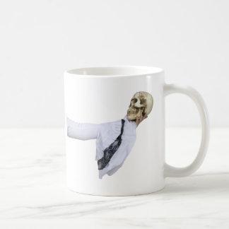 WhiteGothicSkull050110 Coffee Mug