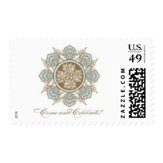 Whitehall D by Ceci New York Postage Stamp