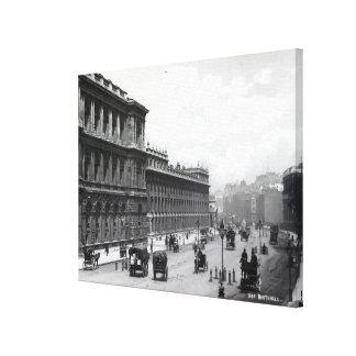 Whitehall, London Canvas Print