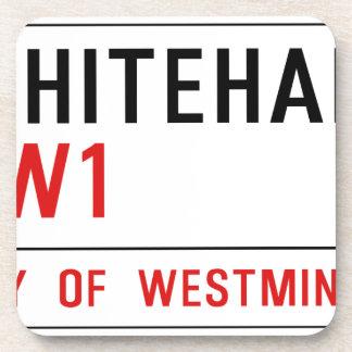 Whitehall London Street Sign Beverage Coaster