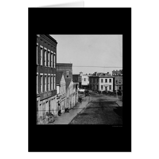Whitehall Street in Atlanta, GA 1864 Card