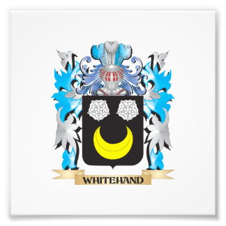 Whitehand Coat of Arms - Family Crest Art Photo