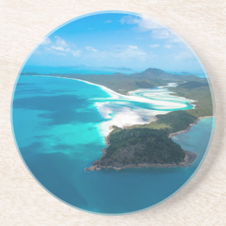 WHITEHAVEN BEACH 2 SANDSTONE COASTER