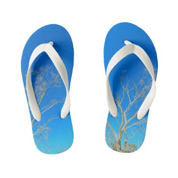 Beach Themed ☼Whitehaven Beach feeling☼ Kid's Flip Flops
