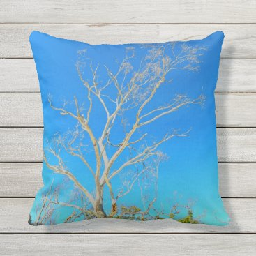 ☼Whitehaven Beach feeling☼ Outdoor Pillow
