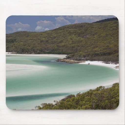Whitehaven Beach, Hill Inlet, Tounge Point, Mouse Pad