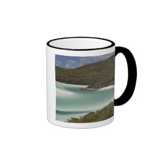 Whitehaven Beach, Hill Inlet, Tounge Point, Ringer Coffee Mug