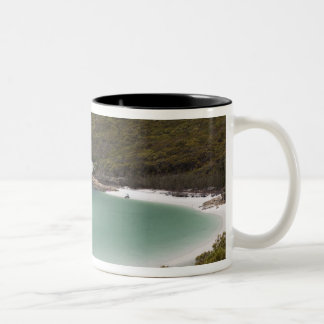 Whitehaven Beach, Hill Inlet, Tounge Point, Two-Tone Coffee Mug